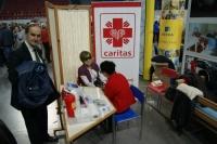 Caritas na Targach Zdrowia.