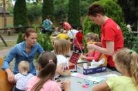 Festyn rodzinny z okazji dnia dziecka w Centrum Rehabilitacji dla Dzieci