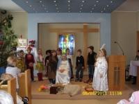 Jasełka w Centrum Opieki Paliatywnej Caritas