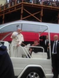 Spotkanie osób niepełnosprawnych z papieżem Franciszkiem_7