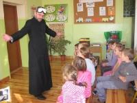 Spotkanie z diecezjalnym opiekunem Szkolnych Kół Caritas (SKC) w Nowakach