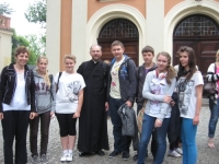 V Diecezjalna Pielgrzymka Szkolnych Kół  Caritas na Górę Św. Anny.