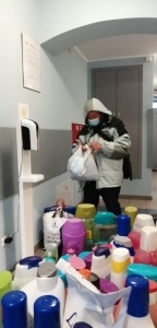 W Łaźni dla bezdomnych zapachniało wiosną.