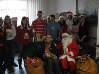 Święty Mikołaj w Centrum Rehabilitacji dla Dzieci