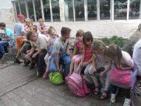 Wycieczka dla dzieci zorganizowana przez Parafialny Zespół Caritas_9