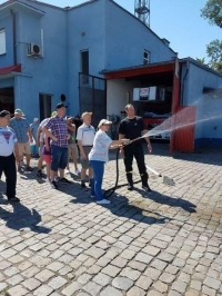 Wyjście do straży pożarnej w Raciborzu