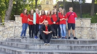 X Diecezjalna Pielgrzymka Szkolnych Kół Caritas Diecezji Opolskiej na Górę Św. Anny. _5